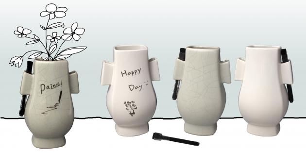 雙耳花瓶.Ears Vase 1